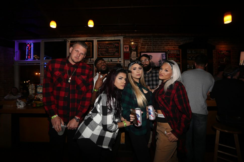 All PLAID everything! These group of west coast gangsters killed it.